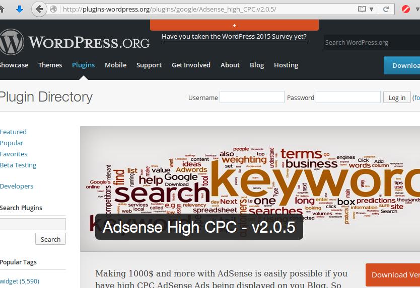 Fake WordPress plugin repository distributing malware