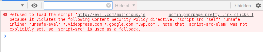 Stored XSS and CSV injection vulnerabilities in WordPress Shortlinks
