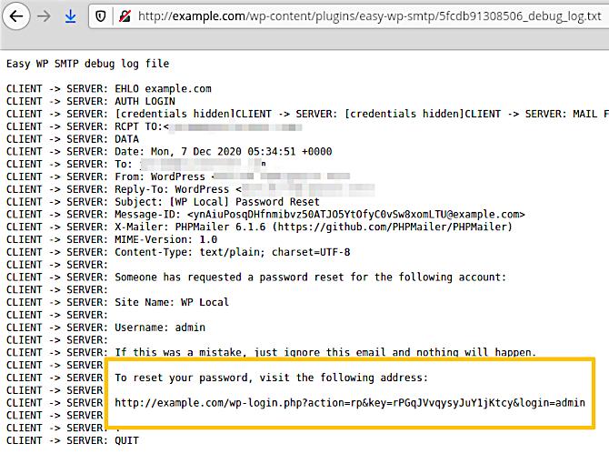 WordPress SMTP 0day漏洞-极安网